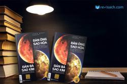 Review sách Đàn ông sao Hỏa, đàn bà sao Kim