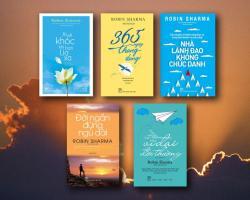 Những cuốn sách hay nhất của Robin Sharma bạn trẻ nên đọc