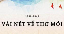 Đôi nét về phong trào thơ mới - Thời kỳ đỉnh cao của văn học việt nam